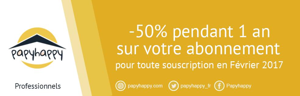 [Pros] -50% pendant 1 an sur votre abonnement Papyhappy