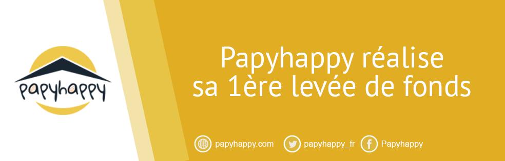 Papyhappy réalise sa 1ère levée de fonds