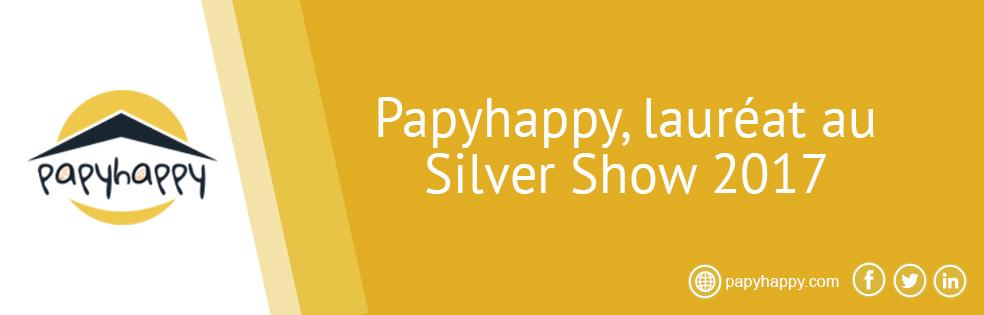 Papyhappy, lauréat au Silver Show 2017