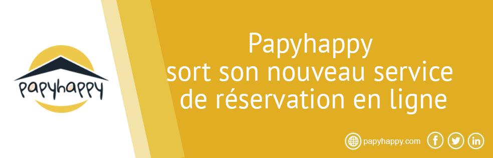 Papyhappy sort son nouveau service de réservation en ligne
