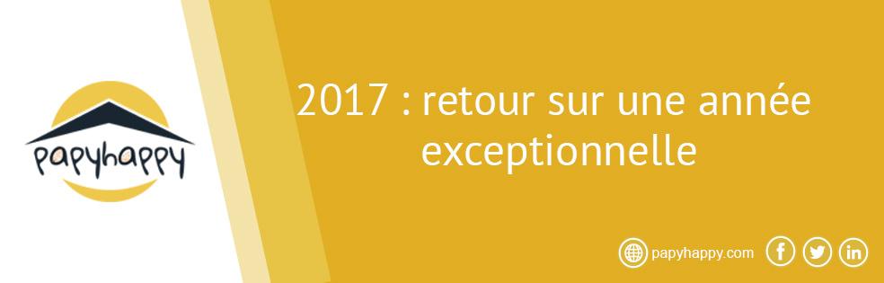 2017 : retour sur une année exceptionnelle