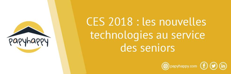 CES 2018: les nouvelles technologies au service des seniors