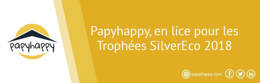 Papyhappy, en lice pour les Trophées SilverEco 2018