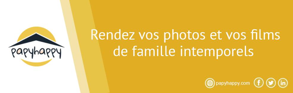 Rendez vos photos et vos films de famille intemporels