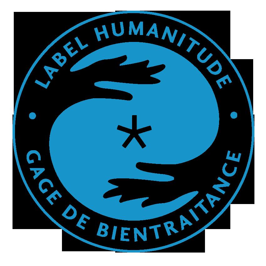 Logo du label humanitude, gage de bientraitance.