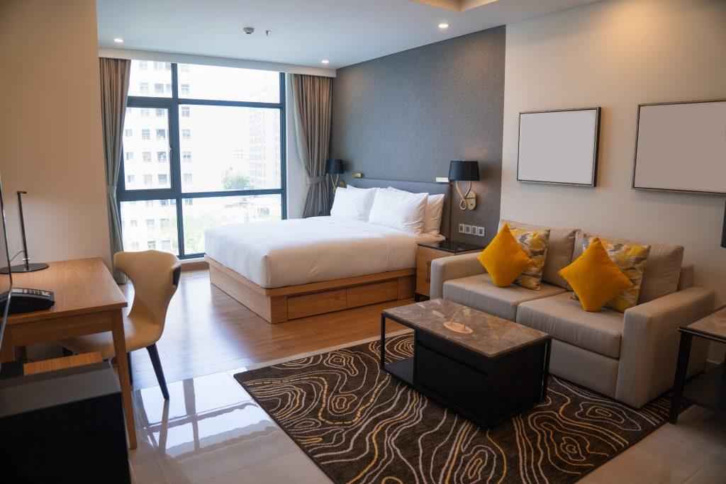 Photo d'un appartement moderne confortable