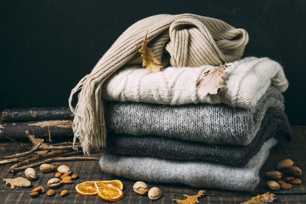 Pulls en laine pour rester au chaud pendant l'hiver